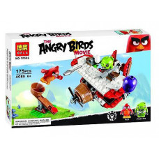 Конструктор Angry Birds «Самолётная атака свинок» (Bela 10506)