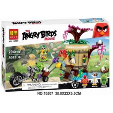 Конструктор Angry Birds «Кража яиц с Птичьего острова» (Bela 10507)