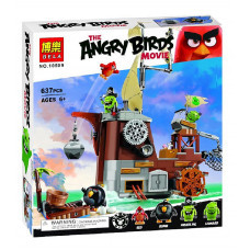 Конструктор Angry Birds «Пиратский корабль свинок» (Bela 10509)