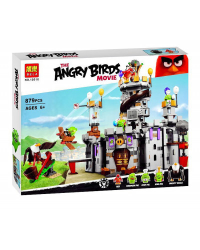 Конструктор Angry Birds «Замок короля свинок» (Bela 10510)