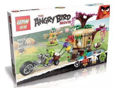 Конструктор Angry Birds «Кража яиц c Птичьего острова» (Lepin 19003)