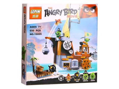 Конструктор Angry Birds «Пиратский корабль свинок» (Lepin 19005)