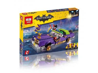 Конструктор Бэтмен «Лоурайдер Джокера» (Lepin 07046)