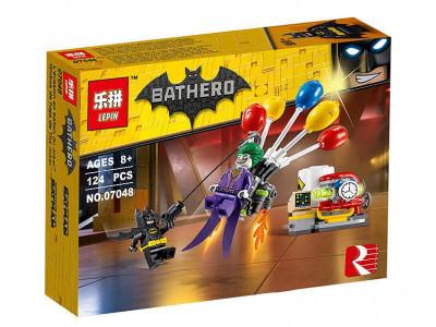 Конструктор Бэтмен «Побег Джокера на воздушном шаре» (Lepin 07048)