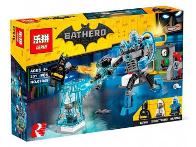 Конструктор Бэтмен «Ледяная aтака Мистера Фриза» (Lepin 07049)