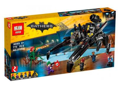 """Конструктор Бэтмен «Скатлер """"Птерозавр"""" Бэтмена» (Lepin 07056)"""