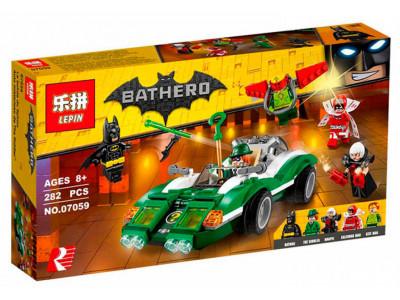 Конструктор Бэтмен «Гоночный автомобиль Загадочника» (Lepin 07059)