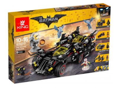 Конструктор Бэтмен «Крутой Бэтмобиль» (King 07077)