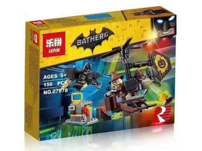 Конструктор Бэтмен «Схватка с Пугалом» (Lepin 07078)