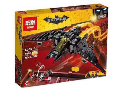 Конструктор Бэтмен «Бэтмолёт Batwing» (Lepin 07080)