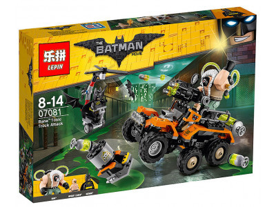 Конструктор Бэтмен «Химическая атака Бэйна» (Lepin 07081)