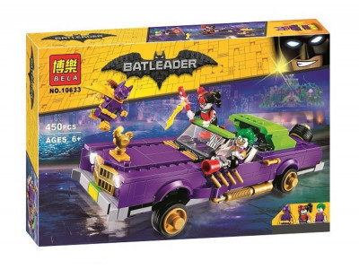 Конструктор Бэтмен «Лоурайдер Джокера» (Bela 10633)