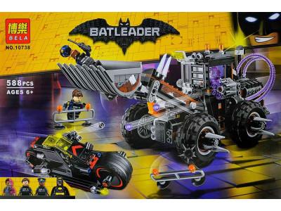 Конструктор Бэтмен «Разрушительное нападение Двуликого» (Bela 10738)