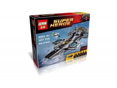 Конструктор Super Heroes «Щ.И.Т. Геликарриер» (Lepin 07043)