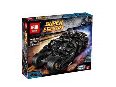 Конструктор Super Heroes «Бэтмобиль The Tumbler» (Lepin 07060)