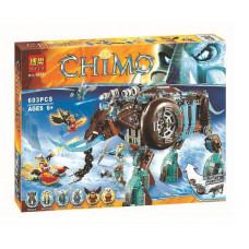 Конструктор Chima «Ледяной мамонт-штурмовик Маулы» (Bela 10297)
