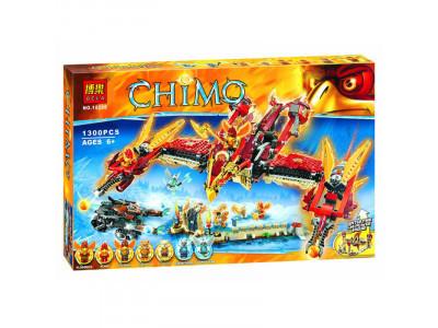 Конструктор Chima «Огненный летающий Храм Фениксов» (Bela 10298)