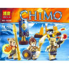 Конструктор Chima «Лагерь клана Львов» (Bela 10346)