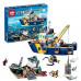 Конструктор City «Корабль исследователей морских глубин» (Lepin 02012)