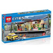 Конструктор City «Железнодорожная станция» (Lepin 02015)
