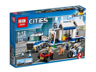 Конструктор City «Мобильный командный центр» (Lepin 02017)