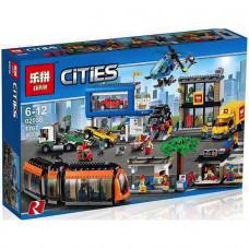 Конструктор City «Городская площадь» (Lepin 02038)