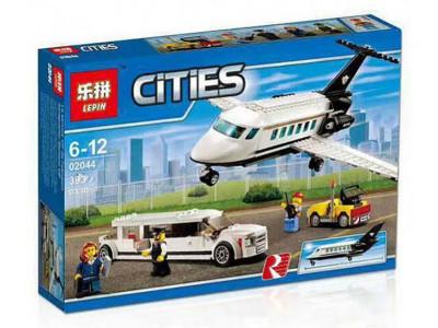 Конструктор City «Служба аэропорта для важных клиентов» (Lepin 02044)