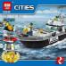 Конструктор City «Береговая охрана» (Lepin 02049)