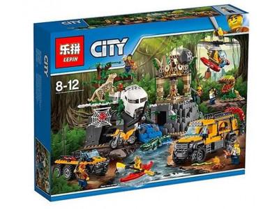Конструктор City «База исследователей джунглей» (Lepin 02061)