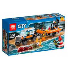 Конструктор City «Внедорожник 4х4 команды быстрого реагирования» (Lepin 02067)