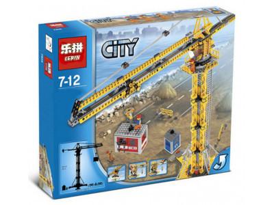 Конструктор City «Высотный строительный кран» (Lepin 02069)