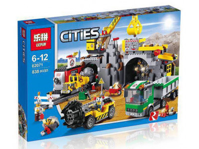 Конструктор City «Большая Шахта» (Lepin 02071)