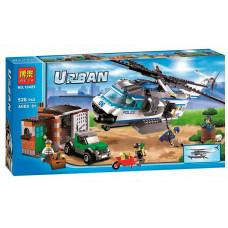 Конструктор City «Вертолётный патруль» (Bela 10423)