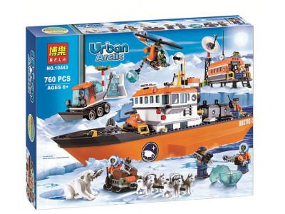 Конструктор City «Арктический ледокол» (Bela 10443)