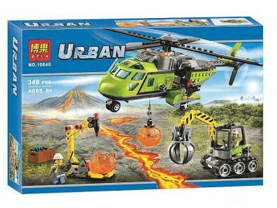 Конструктор City «Грузовой вертолет исследователей вулканов» (Bela 10640)