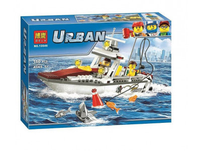 Конструктор City «Рыболовный катер» (Bela 10646)