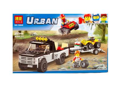 Конструктор Urban «Команда гонщиков» (Bela 10647)