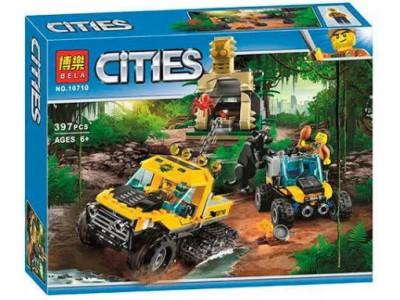 Конструктор City «Миссия Исследование джунглей» (Bela 10710)