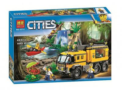 Конструктор City «Передвижная лаборатория в джунглях» (Bela 10711)
