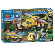 Конструктор City «Вертолёт для доставки грузов в джунгли» (Bela 10713)