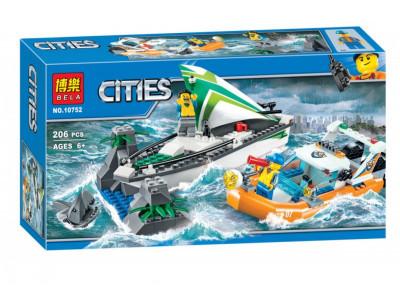 Конструктор City «Операция по спасению парусной лодки» (Bela 10752)