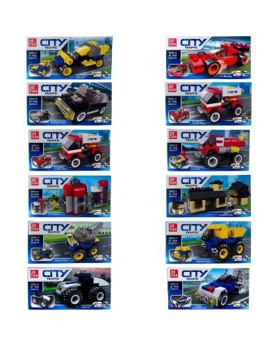 Конструктор City 12 в 1 «Техника» ( 20501)