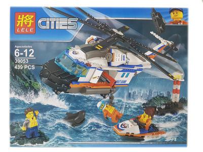 Конструктор City «Сверхмощный спасательный вертолёт» (Lele 39053)
