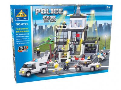 Конструктор City «Центральный офис полиции» (Kazi 6725)