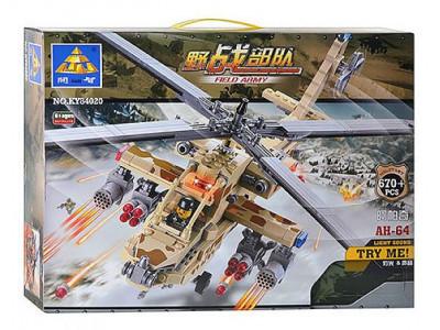 Конструктор City «Ударный вертолёт Apache AH-64» (Kazi KY84020)