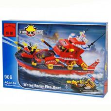 Конструктор City «Большой пожарный катер на воздушной подушке» (Brick 906)