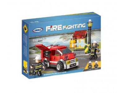 Конструктор City «Пожарная бригада экспресс» (Xingbao XB-14001)