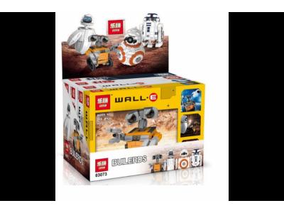 Конструктор Креатор «Мини Wall-E, Eva, BB-8, R2D2 4 В 1» (Lepin 03073)