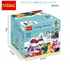 Конструктор Креатор Imagination «Creative box» (Decool 18100)