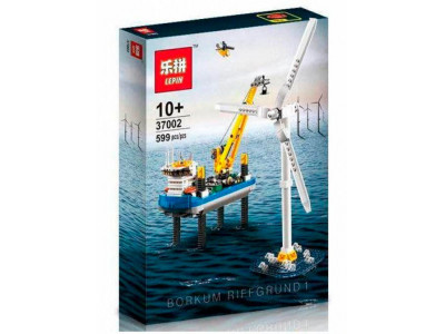 Конструктор Креатор «Ветряная электростанция Borkum Riffgrund 1 » (Lepin 37002)